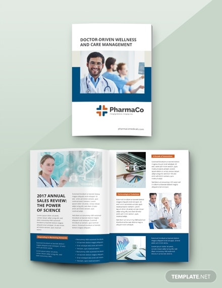 sales catalog template in psd