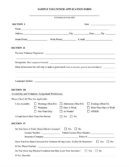sample volunteer sign up sheet 1