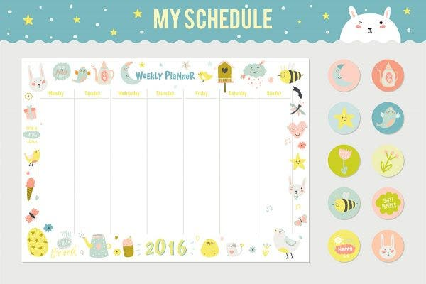 sample weekly schedule template e1539836559464