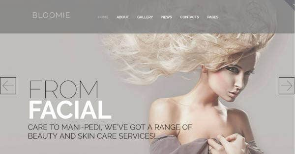 Skin Care & Beauty Salon WP Theme