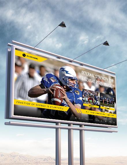 sports billboard banner template in illustrator