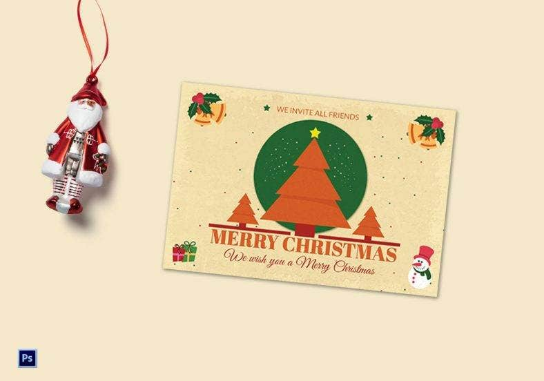 star-christmas-tree-greeting-card-psd-template