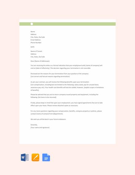 termination notice template2