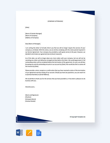 termination of services letter to supplier1