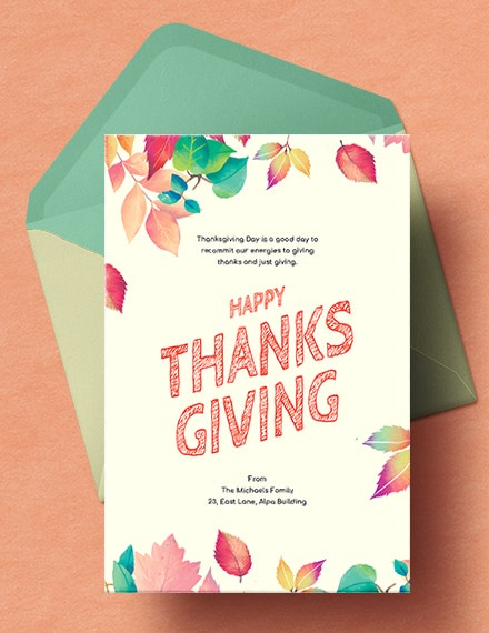 thanksgiving card template in illustrator