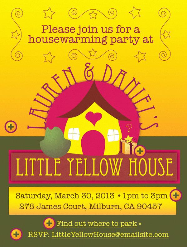 Whimsical Housewarming Invitation Template