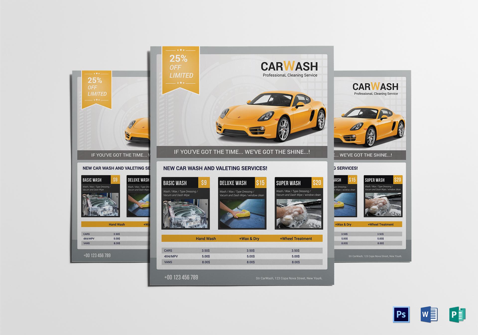 car wash flyer 8