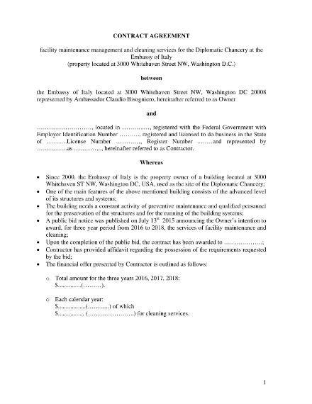 contract agreement 01