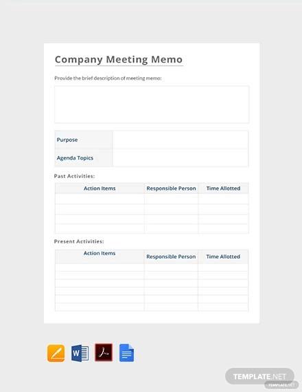 free company meeting