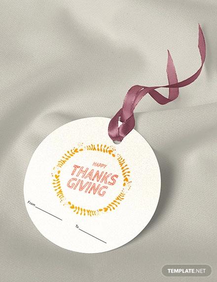 free thanksgiving label