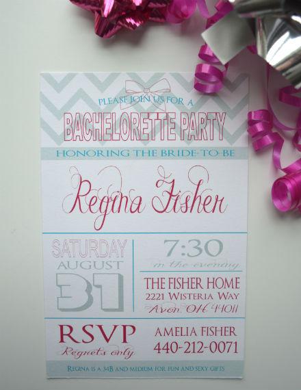 sample bachelorette party invite