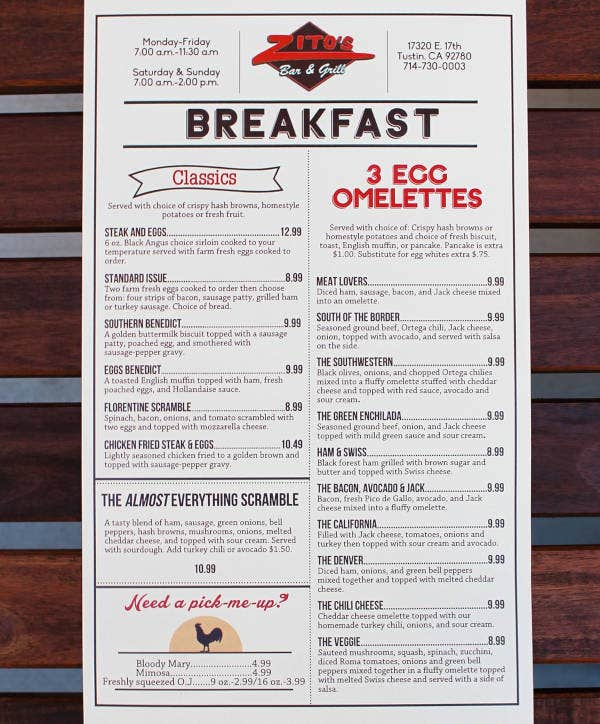bar and grill breakfast menu example1
