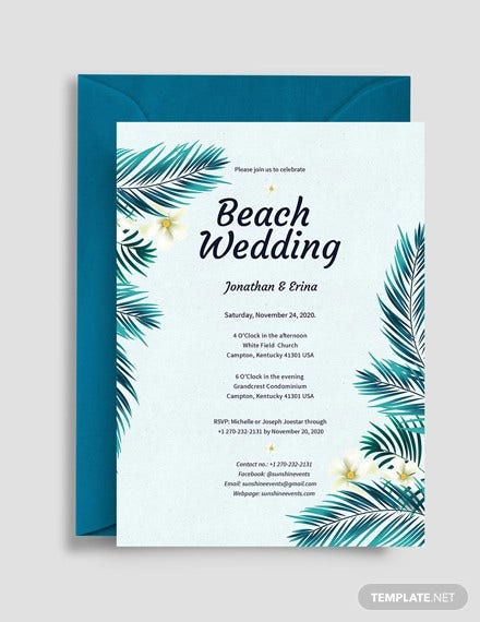 43 Wedding Templates