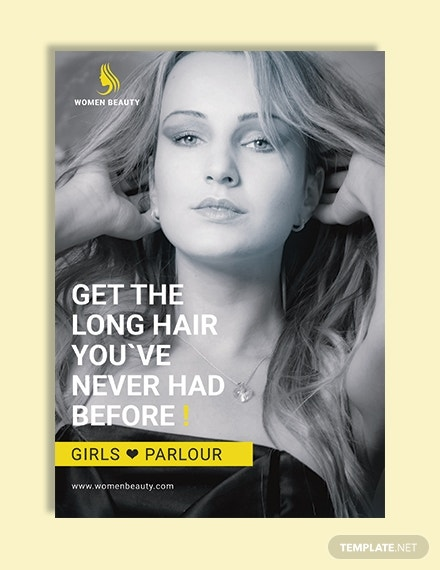 beauty parlor ebook cover template in word