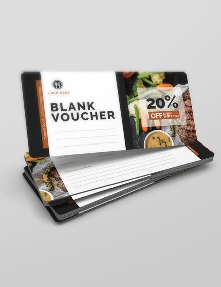 blank voucher word template