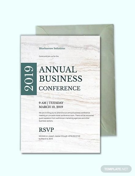 10 Conference Invitation Templates