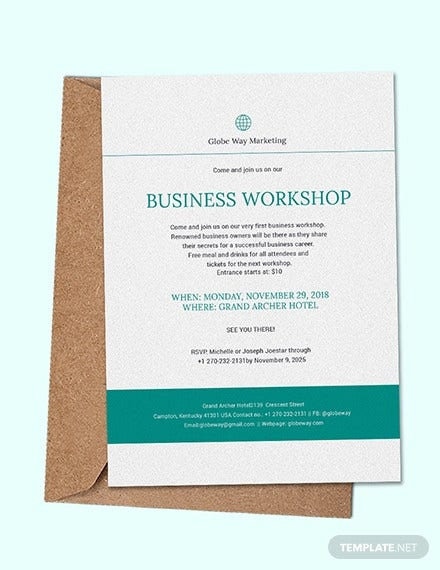 31 Business Invitation Templates Psd Word Ai Indesign