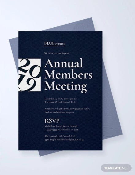 38 Meeting Invitation Designs