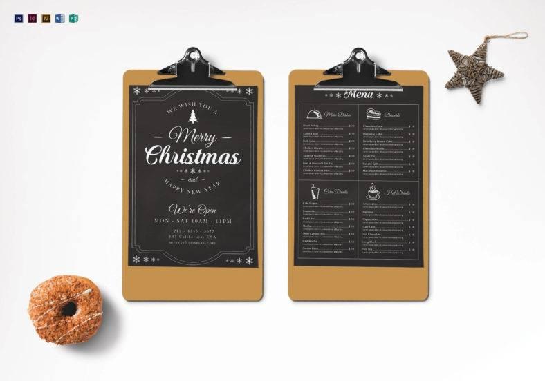 christmas-chalk-menu-template
