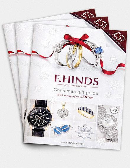 christmas jewelry brochure example