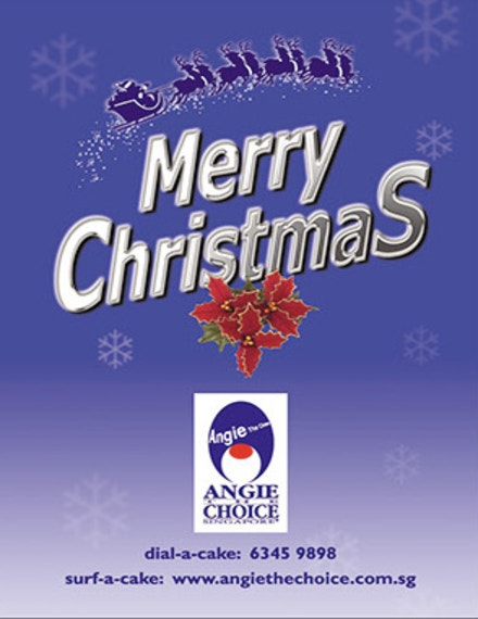 christmas product brochure sample