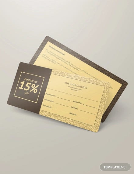 14 ticket voucher templates psd eps pdf word free premium