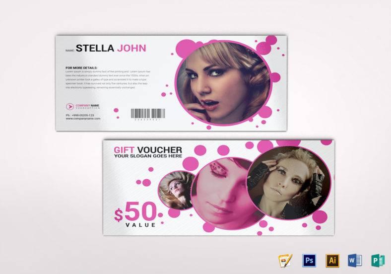 fashion gift voucher template 788x552