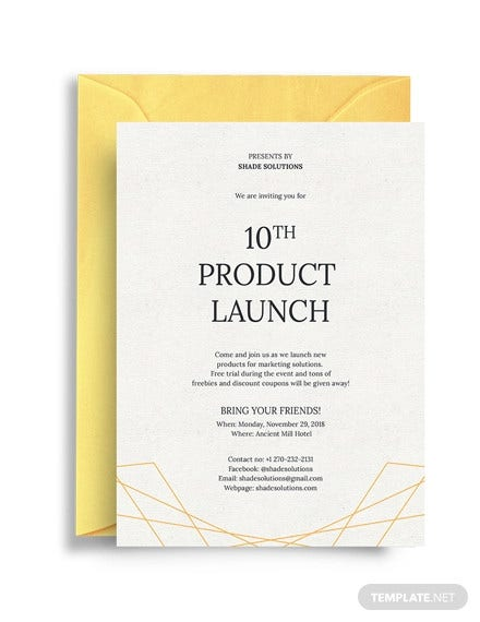61 formal invitation templates psd word ai pages indesign