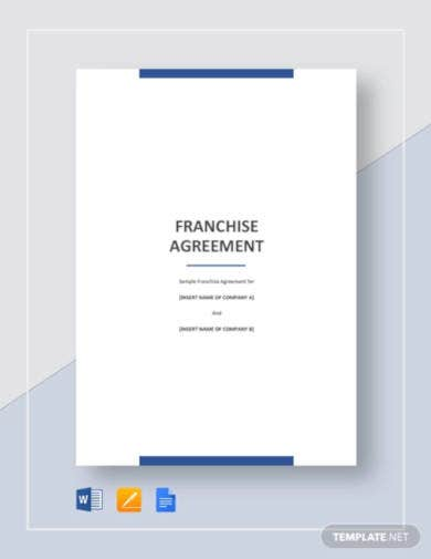 franchise-agreement-template