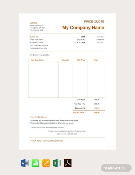 free ecommerce website quotation template 440x570 1