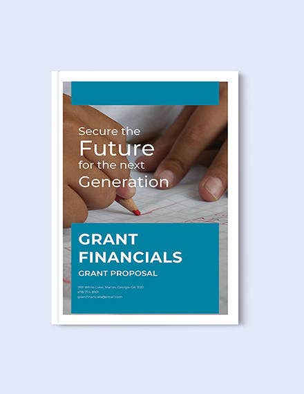 free grant proposal template