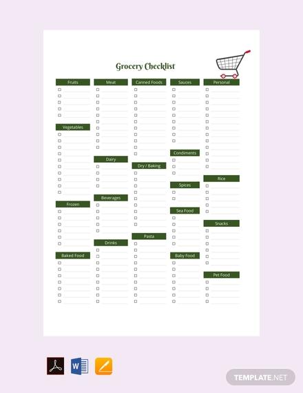 10 checklist templates in pdf free premium templates