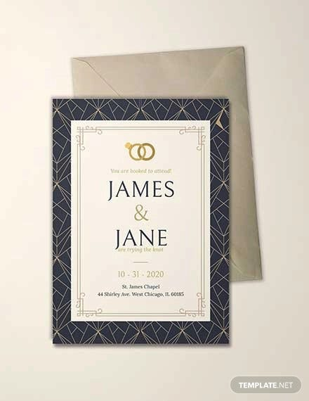 free sample invitation card template