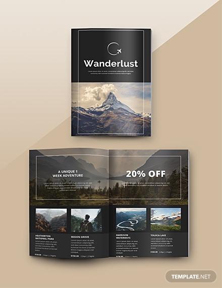 free travel catalog template 1x