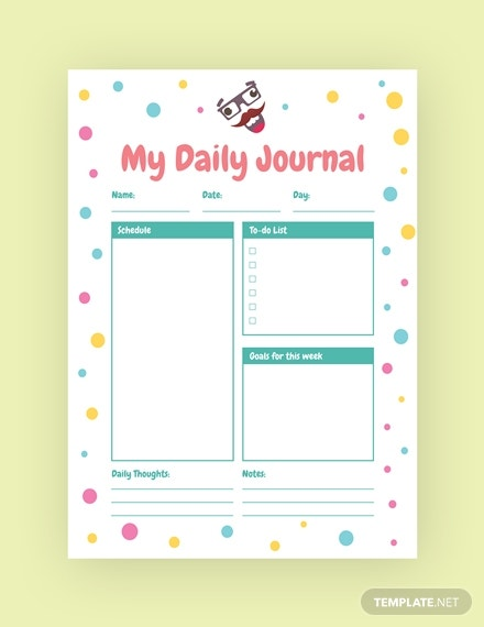 funny journal template