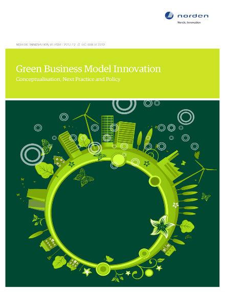 green business model proposal