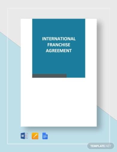 international-franchise-agreement