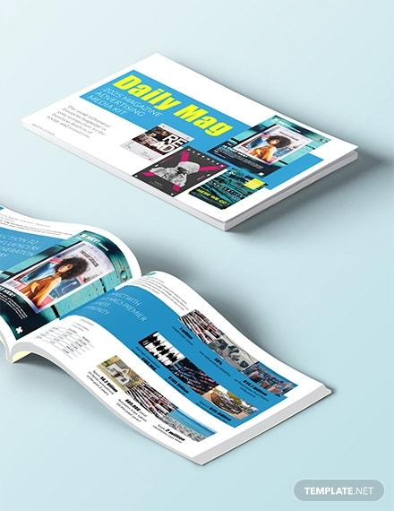 magazine advertising media kit template