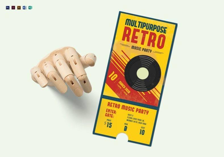 multipurpose-retro-party-ticket-template