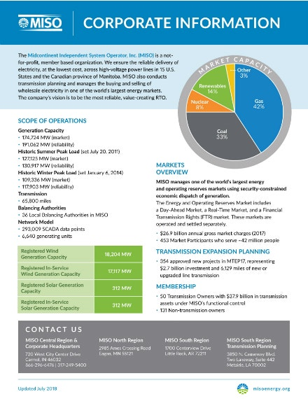 non profit company fact sheet