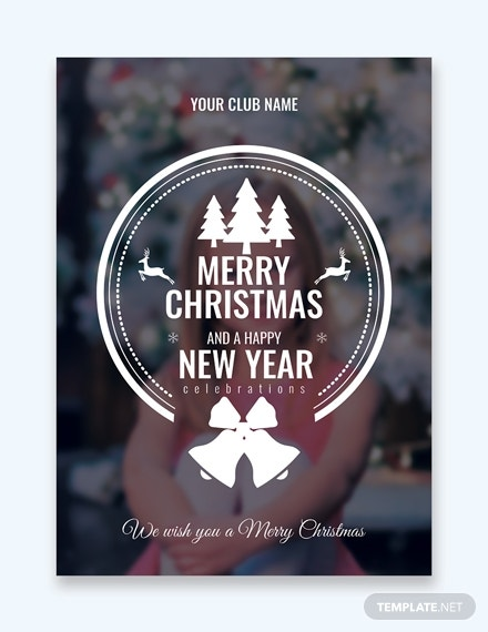 photo christmas greeting card 1 1x
