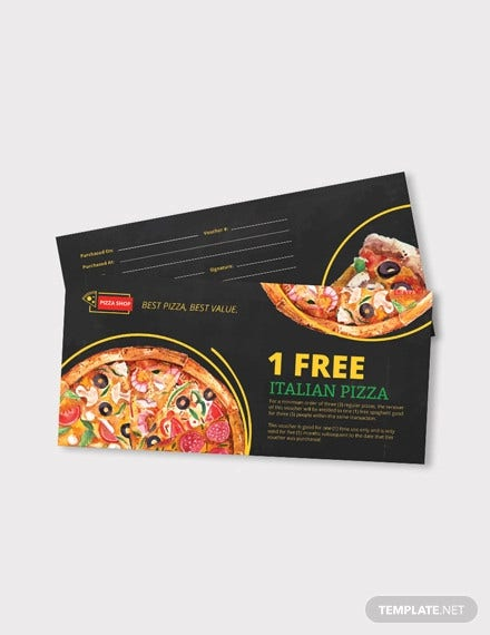 pizza coupon template