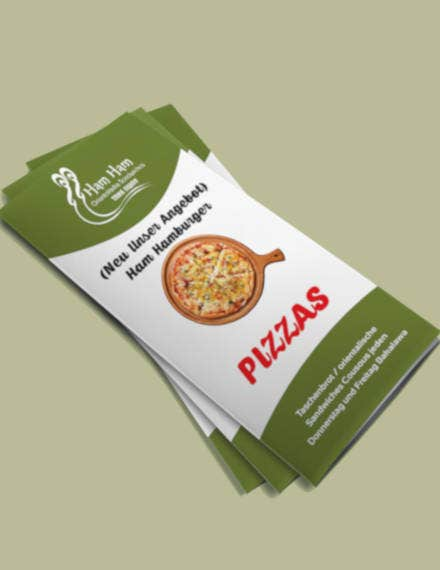 pizza menu example
