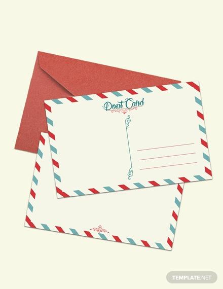 post card 1x 1