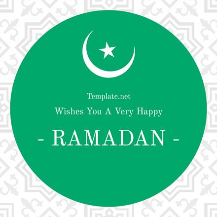 ramadan greeting card template