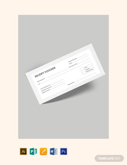 receipt voucher template