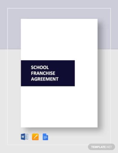 school-franchise-agreement