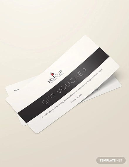 simple gift voucher example