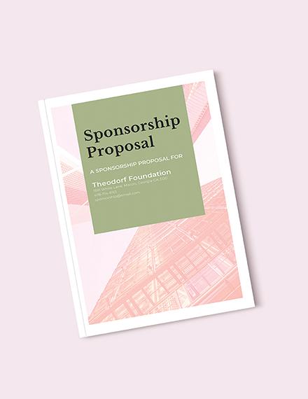 sponsorship proposal template 1 1x