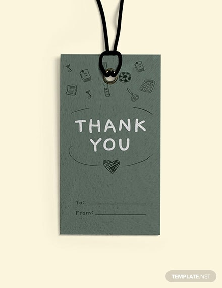teacher thank you tag template